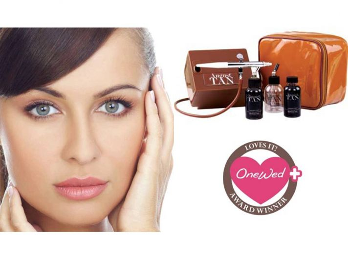 Win a professional airbrush tanning system to get sunkissed for your wedding day