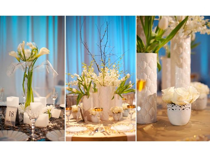 Wedding Flower Ideas 5 Distinct Centerpieces That Look Great Together