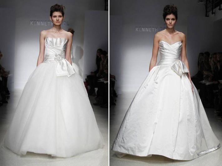 Romantic ballgown wedding dresses from Kenneth Pool's Spring 2012 collection