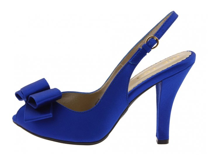A great way to knock out your something blue is to wear blue bridal heels