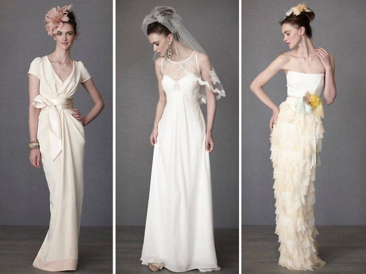 Brand new BHLDN wedding dresses for Spring 2011