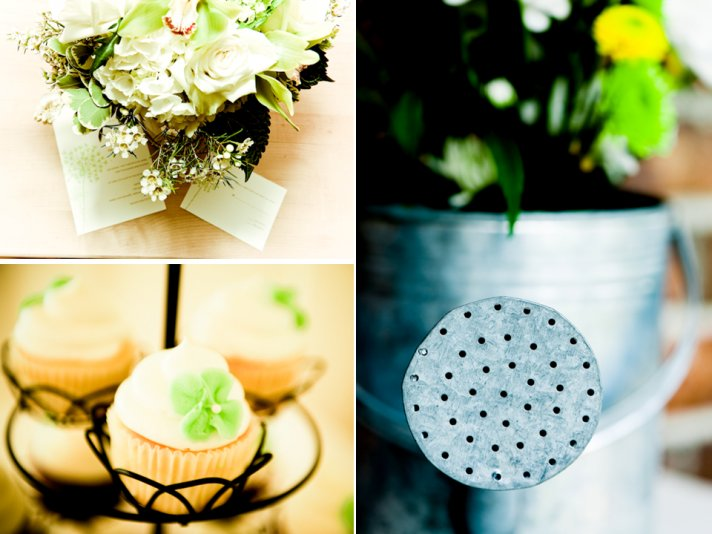 Lemon and lime wedding color palette for shabby chic Spring wedding in New Jersey