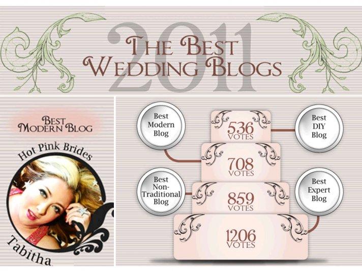 Q/A with best modern wedding blog of 2011- Hot Pink Brides