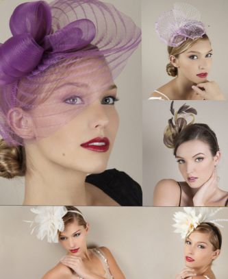 Royal wedding hats and fascinators by Jane Tran for brides and wedding