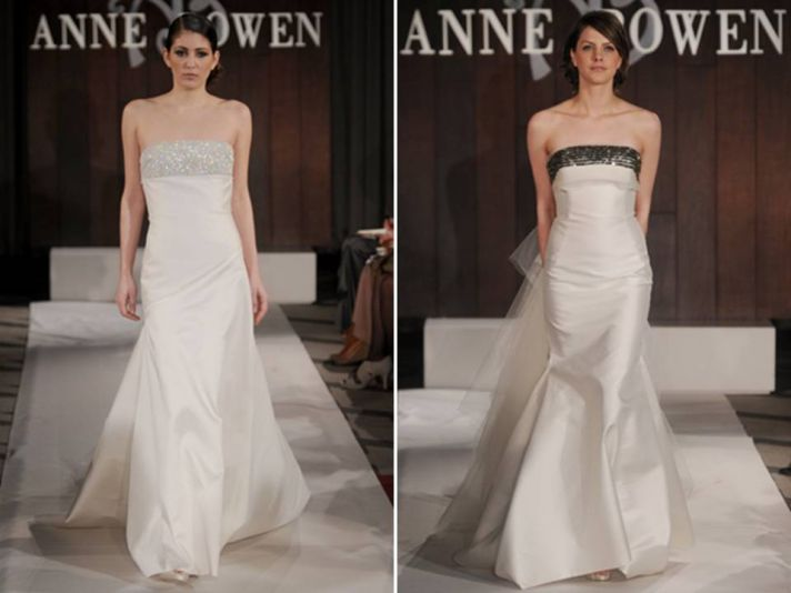 Anne Bowen 39s Spring 2012 bridal collection explores the essence of New York