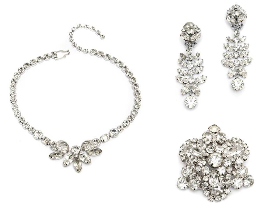 Credit Vintage bridal jewelry from the Carole Tanenbaum Vintage Collection