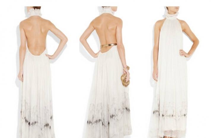 alexander-mcqueen-beach-wedding-dress-bohemian-bride-silver-bridal-belt