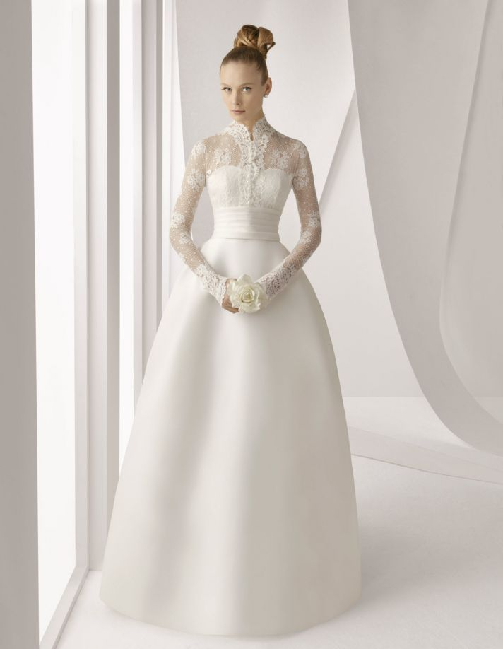spring 2012 wedding dress rosa clara bridal gowns modest wedding dress