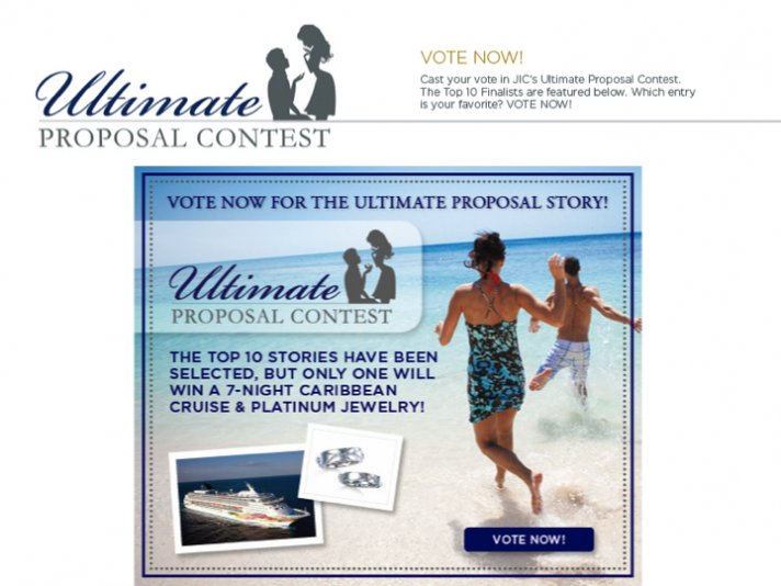 VOTE for the ultimate proposal to help a OneWed couple win the ultimate prize