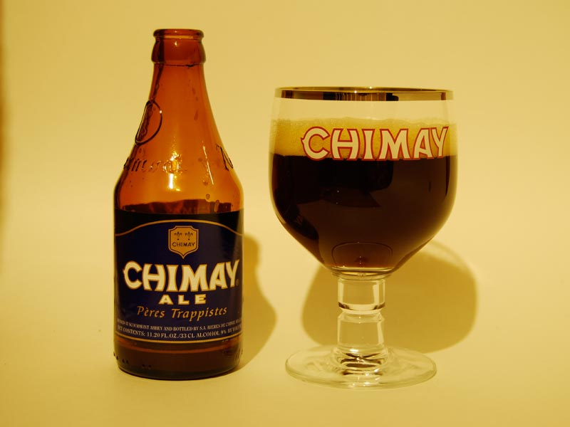 Credit Specialty brews for your wedding reception Chimay Blue Grand