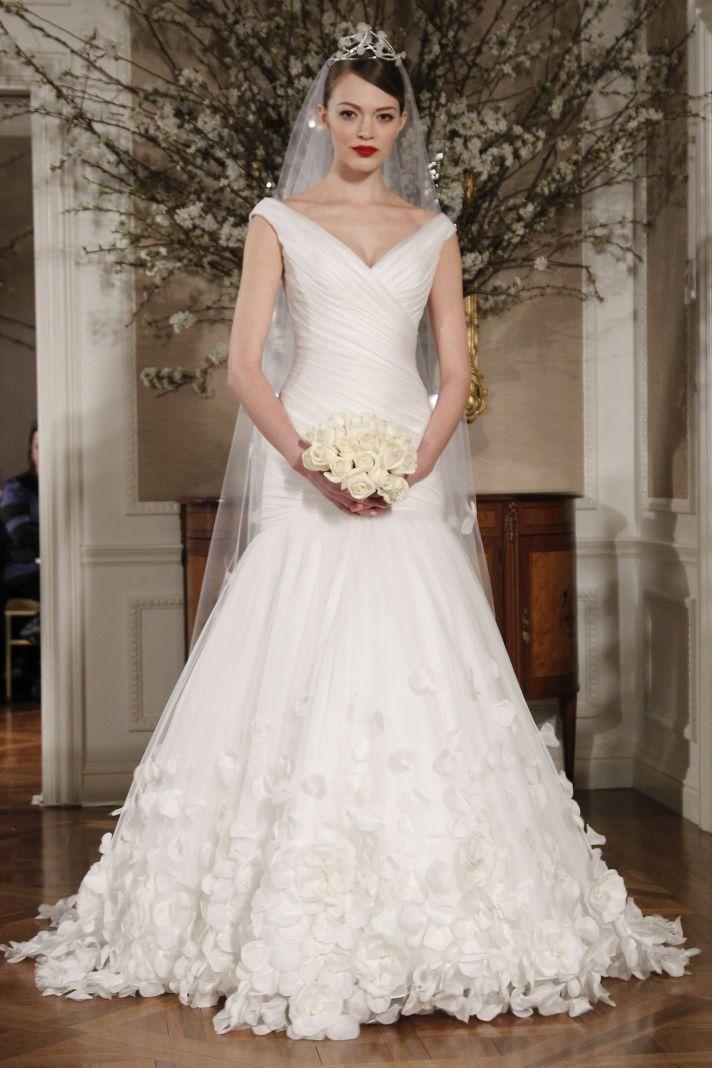 Romantic Romona Keveza Fall 2011 wedding dress