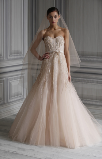Monique Lhuillier Wedding Dresses Pure Romance Spring 2012