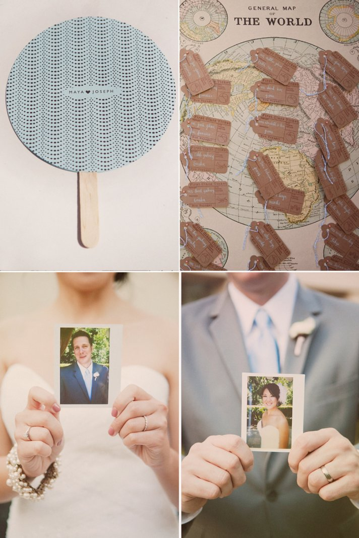 Real California wedding, vintage wedding details
