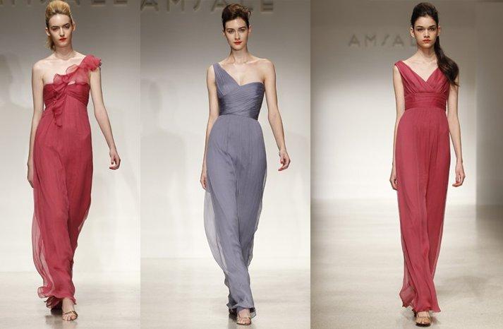 Amsale-bridesmaids-dresses