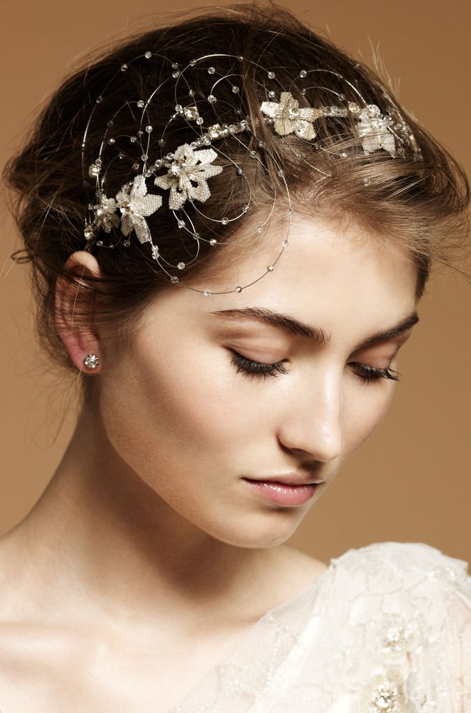 Jenny Packham bridal hair accessories