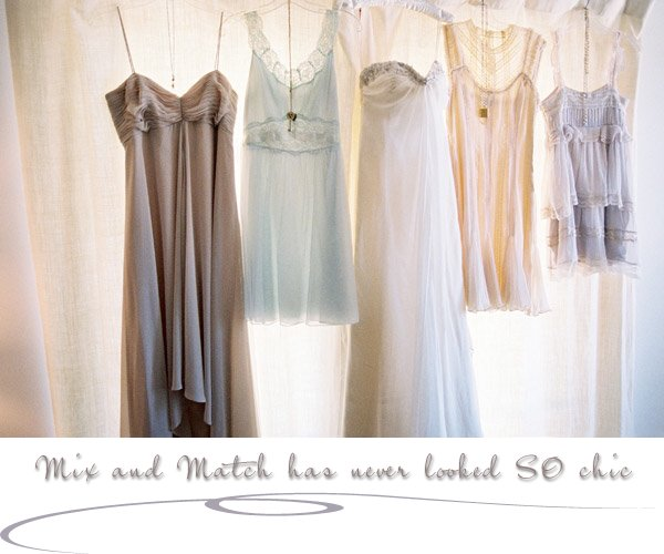 Mix N Match Bridesmaid Style: Inspiration For Your I Do's
