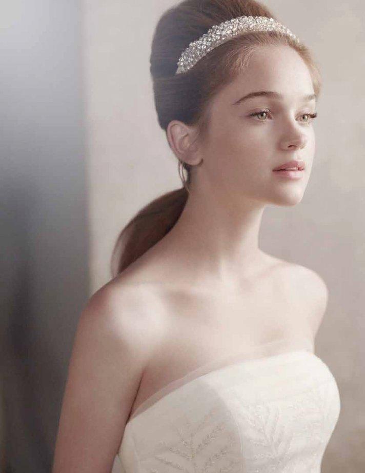 Kate Middleton-inspired bridal tiara by Vera Wang