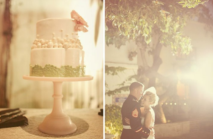 Military-wedding-cake-first-dance
