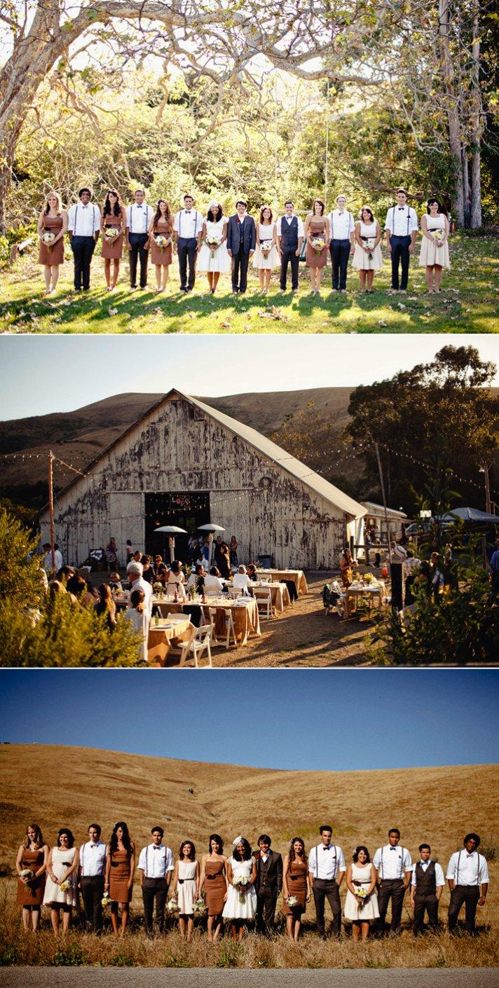 Real California weddings- vintage bride, barn wedding venue by Matthew Morgan Photography- 8
