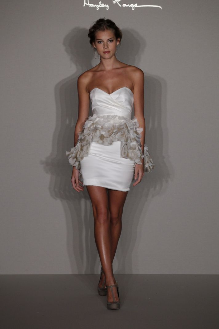 Spring 2012 wedding dress- Hayley Paige for JLM Couture- 6209