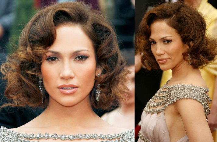 Jennifer-lopez-short-retro-wedding-hair