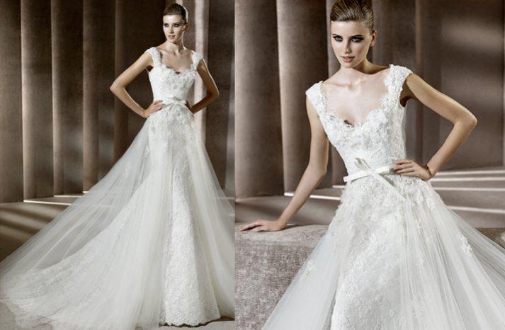 elia saab lace wedding dress