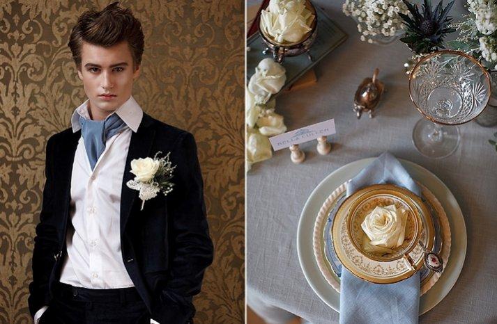 breaking dawn grooms attire wedding reception tablescape