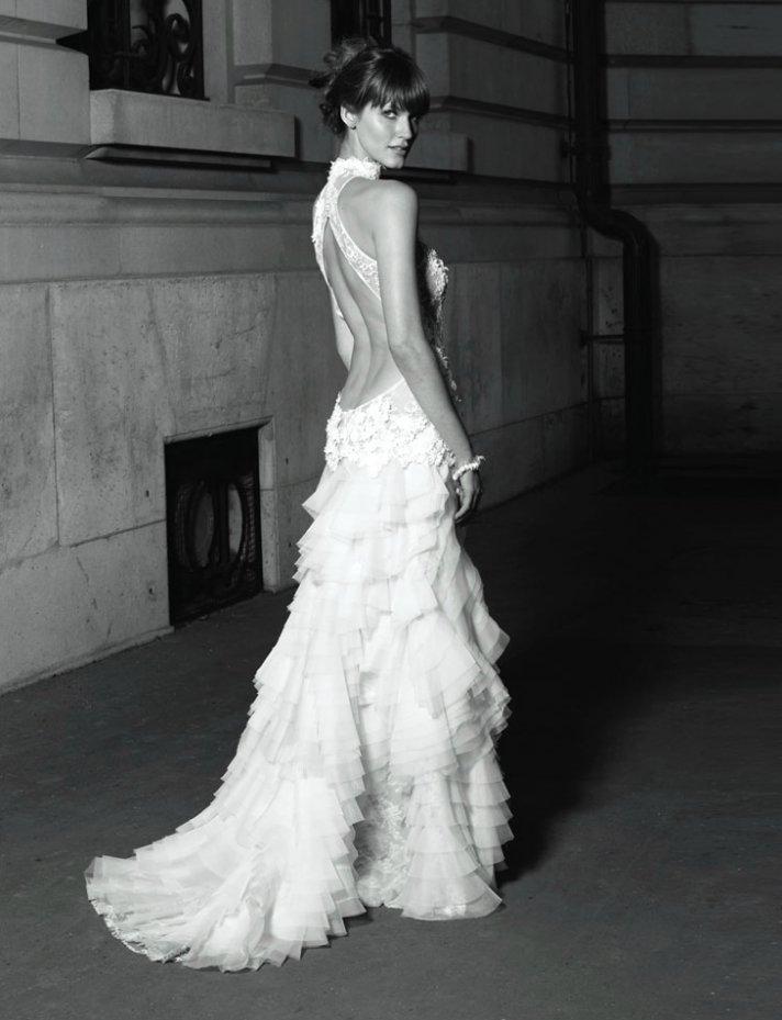 statement backs 2012 wedding dress trends 2