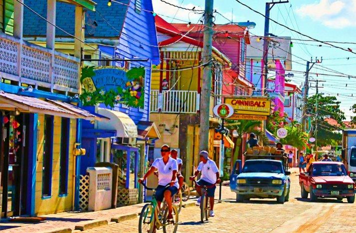 top honeymoon locations belize town
