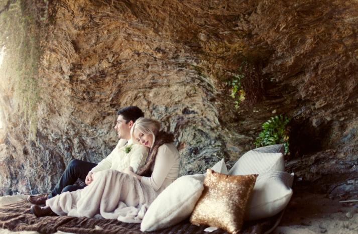 winter wedding california elopement 14