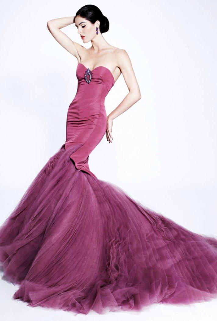 zac posen wedding dress inspiration color palettes