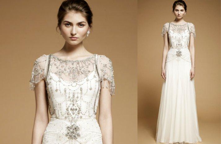 Modified-a-line-wedding-dress-beaded-sleeves-2012-wedding-dress-trends