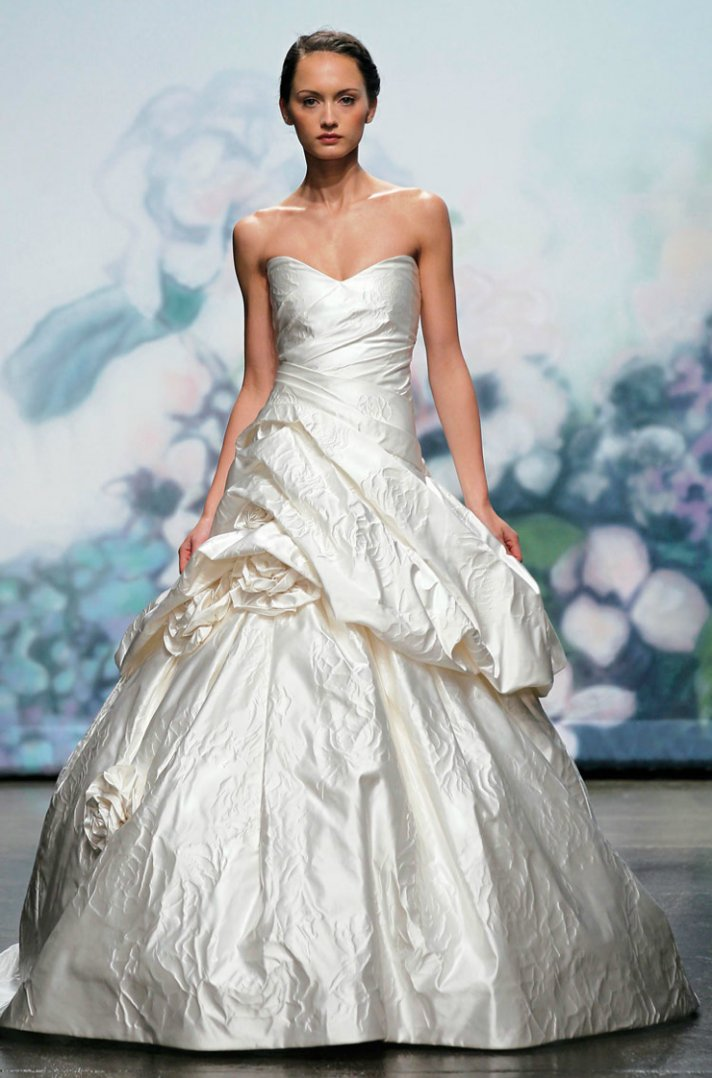 2012 wedding dresses ballgown bridal gown monique lhuillier