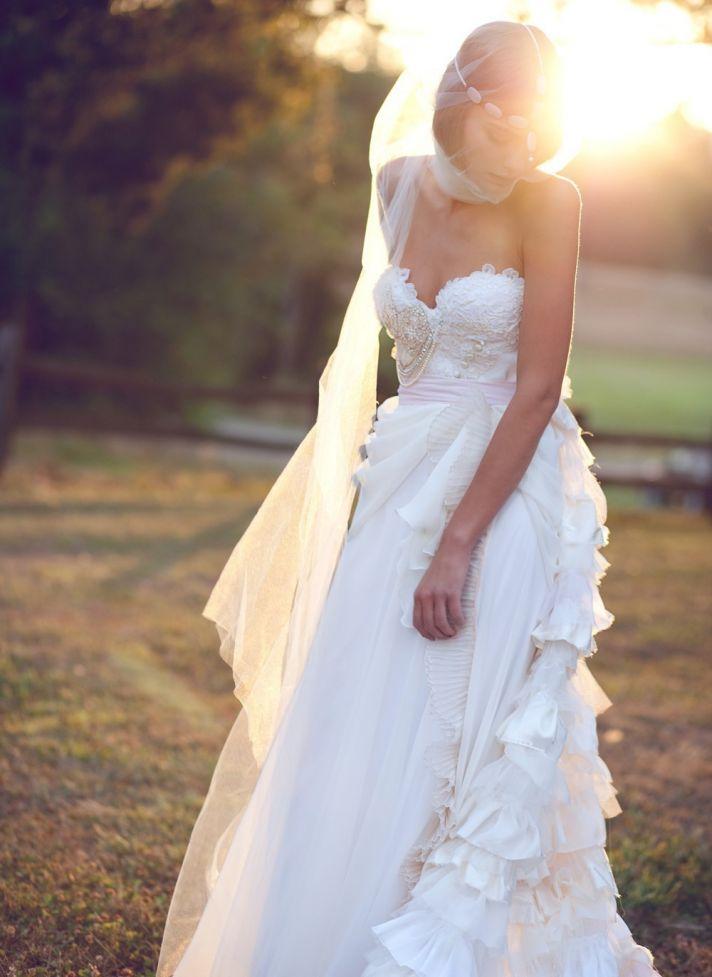 9 Etsy Wedding Dresses We Love for 2012 Brides