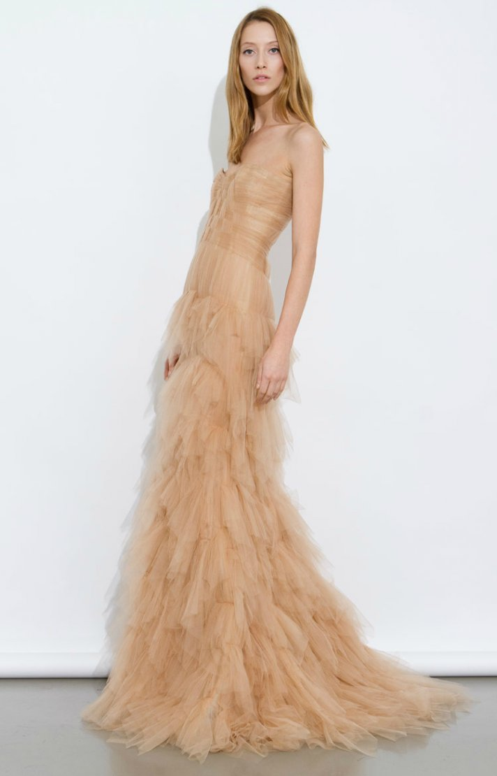 Nude Wedding Dresses 53 Stunning nude wedding dress a