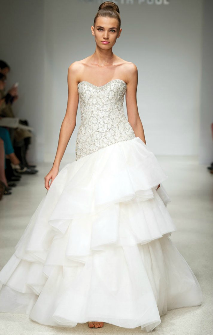 2012 wedding dresses beaded bridal gowns kenneth pool