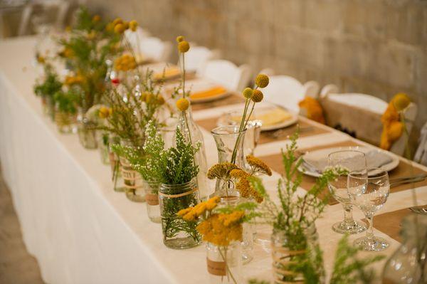 Wedding Flower Style: Multiples