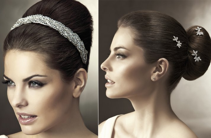 2012 wedding hair accessories bridal hairstyles pronovias 5