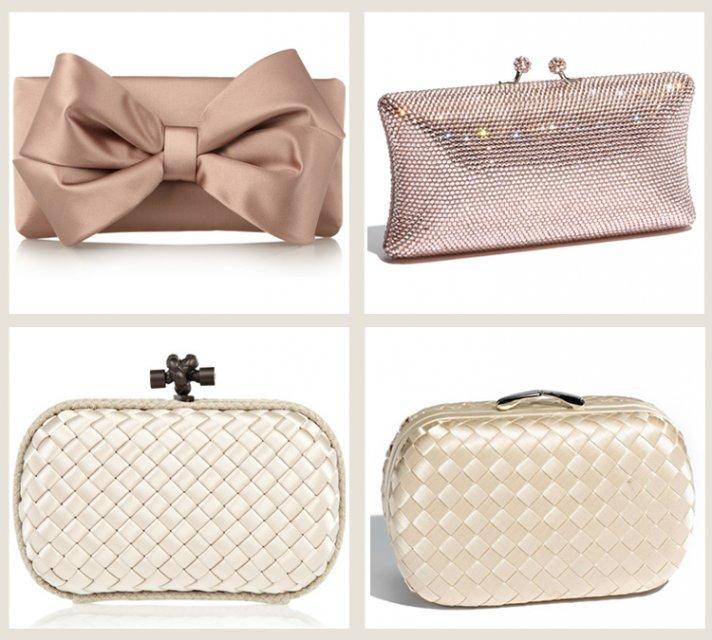 splurge vs save wedding clutches bridal accessories