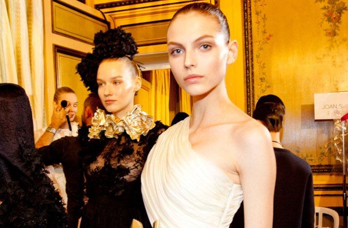 2012 spring couture wedding hair makeup inspiration