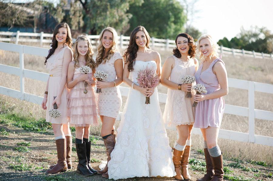 Country Bridesmaid Dresses - purple prom dresses