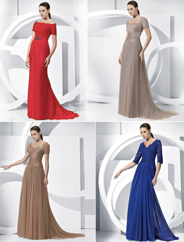 chic mother of the bride dresses pronovias