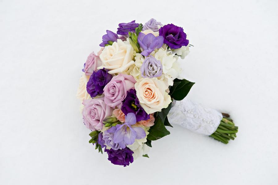 Ivory Wedding Flowers Ideas Reyne S Sam Bouquet Of Roses Bouvardia Purple