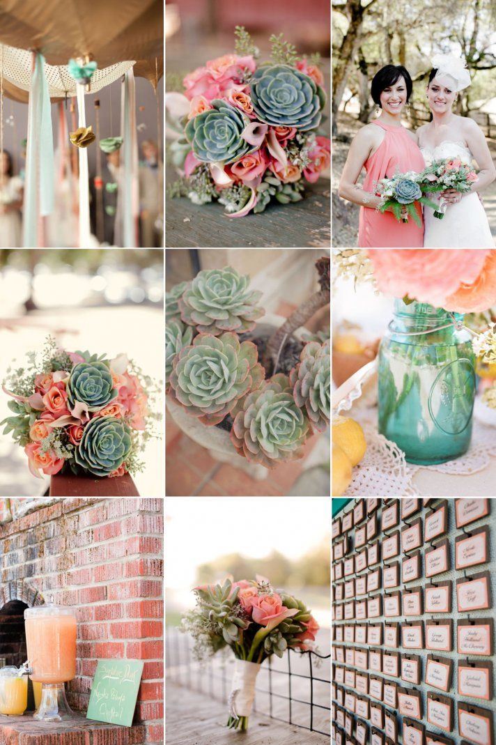 We Heart Succulents For Your Wedding Day