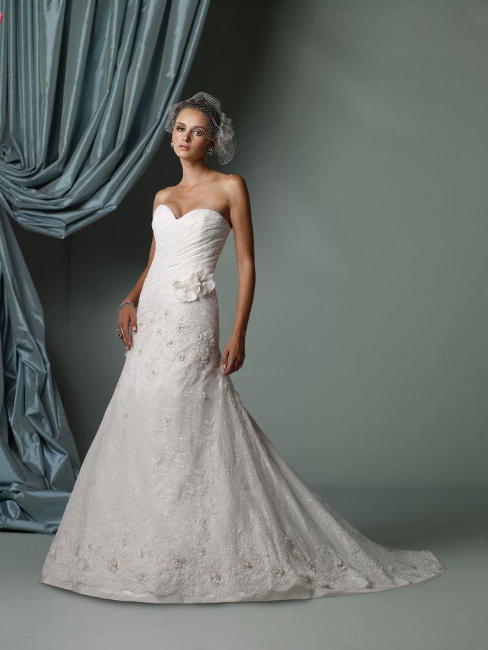 2012 wedding dress james clifford for mon cheri bridal gowns J11237