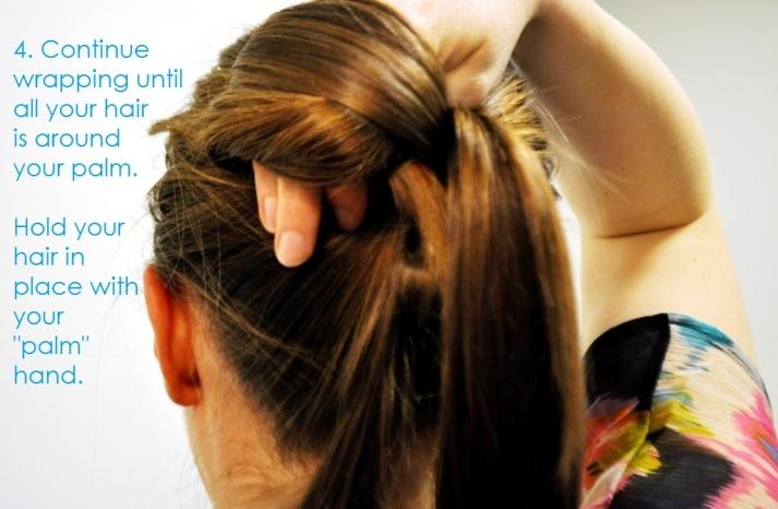 DIY wedding hair ideas bridal updo bow bun 5