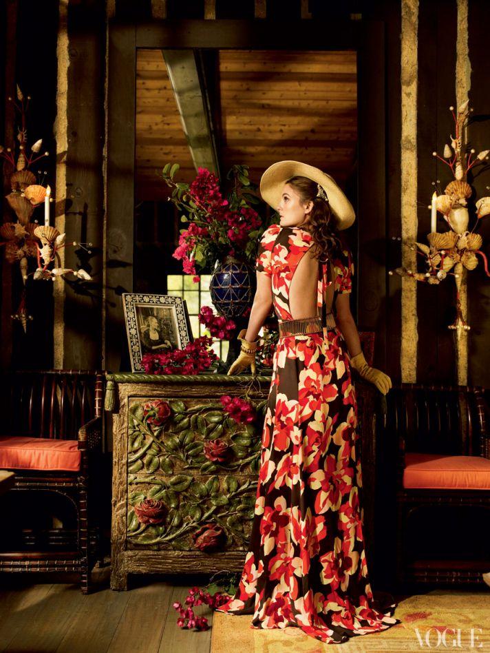 spring wedding inspiration printed bridesmaids dresses