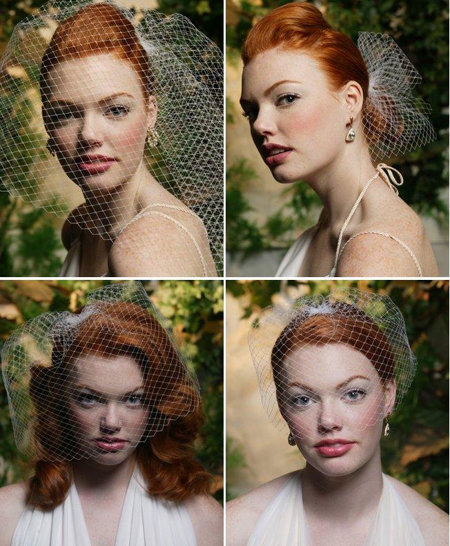 bridal veils birdcage wedding veils 2012 bridal trends
