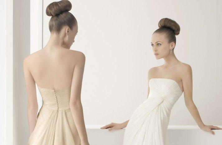 2012 wedding dress soft by rosa clara bridal gowns simple strapless modified a line