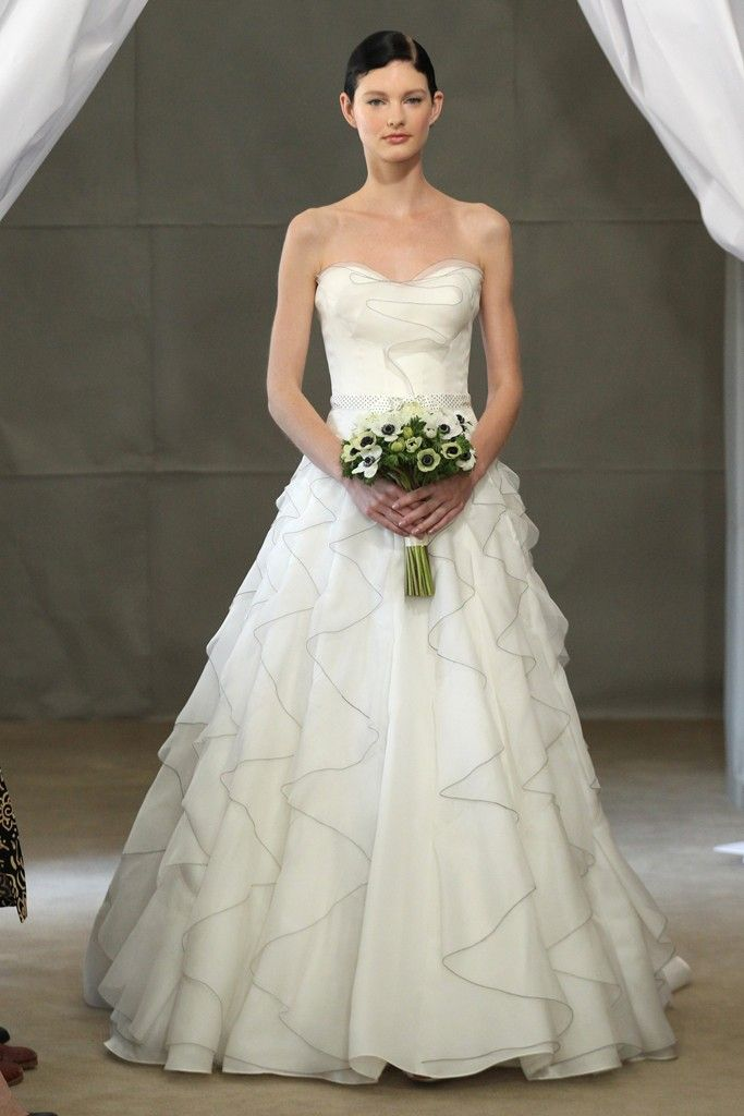 Spring 2013 Bridal Gowns by Carolina Herrera